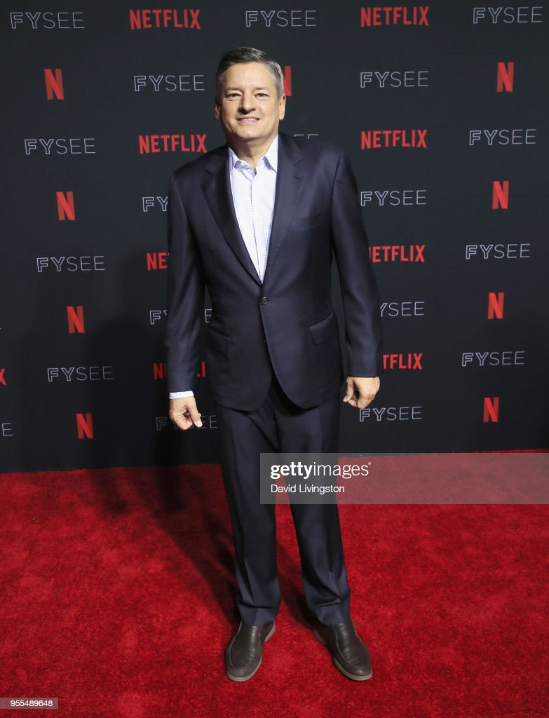 Chief Content Officer for Netflix Ted Sarandos attends the Netflix FYSEE Kick-Off at Netflix FYSEE At Raleigh Studios on May 6, 2018 in Los Angeles, California.