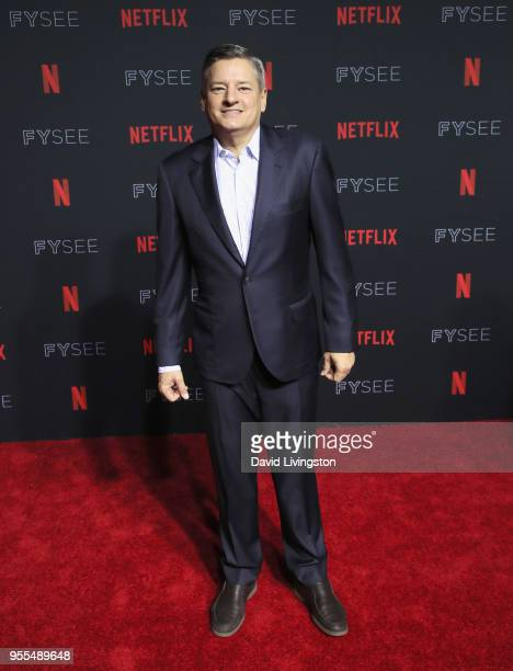 Chief Content Officer for Netflix Ted Sarandos attends the Netflix FYSEE KickOff at Netflix FYSEE At Raleigh Studios on May 6 2018 in Los Angeles...