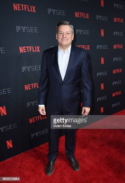 Chief Content Officer for Netflix Ted Sarandos attends the Netflix FYSee Kick Off Party at Raleigh Studios on May 6 2018 in Los Angeles California