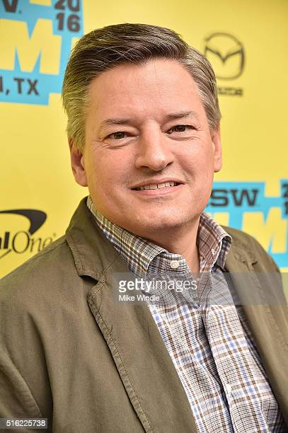 Chief content officer for Netflix Ted Sarandos attends the premiere of 'Peewee's Big Holiday' during the 2016 SXSW Music Film Interactive Festival at...