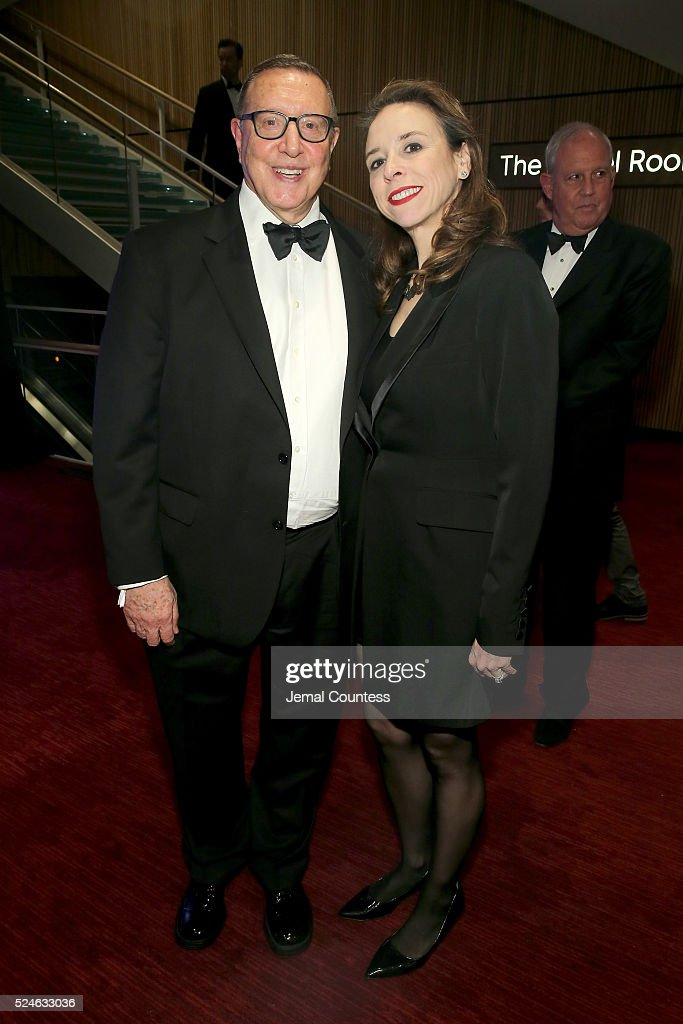 Chief Content Officer of Time Inc. Norman Pearlstine and industrial engineer Jane Boon attend 2016 Time 100 Gala, Time's Most Influential People In The World - Cocktails at Jazz At Lincoln Center at the Times Warner Center on April 26, 2016 in New York City.