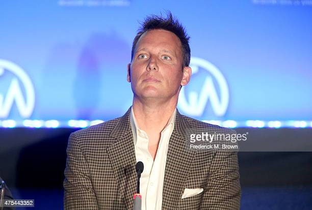 Chief Creative Officer 3 Ball Entertainment Brant Pinvidic speaks at the 7th Annual Produced By Conference at Paramount Studios on May 31 2015 in...