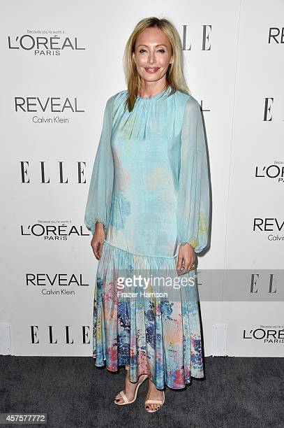 Chief creative officer for BCBG Max Azria Group Lubov Azria arrives at ELLE's 21st Annual Women In Hollywood at Four Seasons Hotel Los Angeles at...