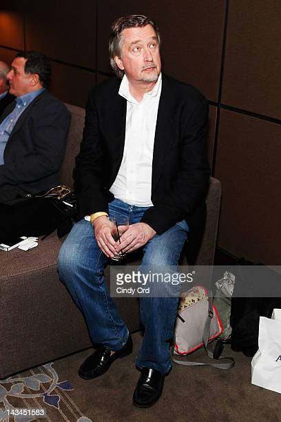 Chief Creative Officer for Tribeca Enterprises Geoffrey Gilmore attends the 2012 TFF Awards during the 2012 Tribeca Film Festival at the Conrad Hotel...
