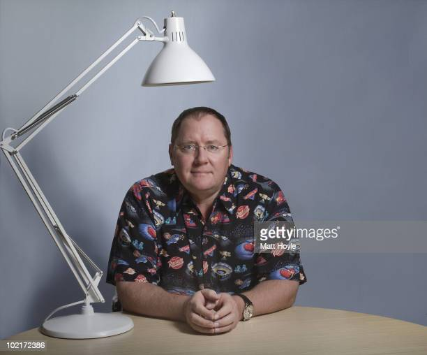 Chief Creative Officer of Pixar John Lasseter poses at a portrait session for Entertainment Weekly Magazine