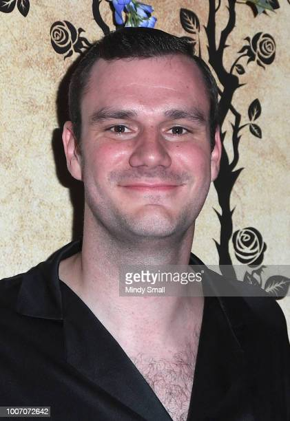 Chief Creative Officer of Playboy Cooper Hefner arrives at Playboy's Midsummer Night's Dream at the Marquee Nightclub at The Cosmopolitan of Las...