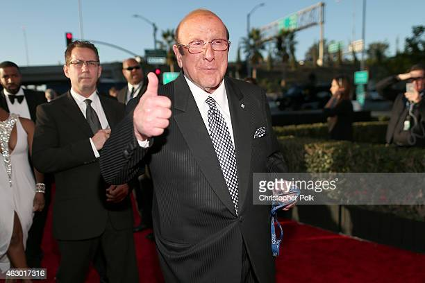 Chief Creative Officer of Sony Music Entertainment Clive Davis attends The 57th Annual GRAMMY Awards at the STAPLES Center on February 8 2015 in Los...