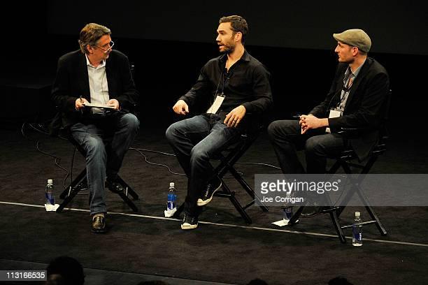 Chief Creative Officer of Tribeca Film Festival Geoffrey Gilmore Production Designer at Team Bondi Simon Wood and Art Director at Rockstar Games Rob...