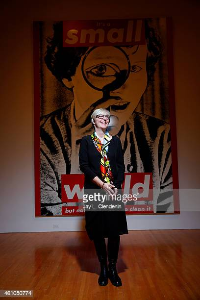 Chief curator at the Museum of Contemporary Art in downtown Los Angeles Helen Molesworth is photographed for Los Angeles Times on December 4 2014 in...