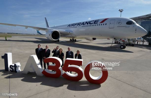 Chief Customer Officer at RollsRoyce Dominic Horwood Chief commercial Officer Airbus Christian Smith the President and CEO of Air France Benjamin...