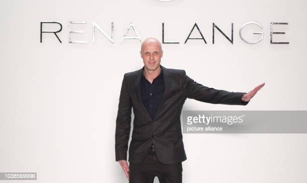 Chief Designer Karsten Fielitz at the Rena Lange show during the Mercedes-Benz Fashion Week in Berlin, Germany, 17 January 2013. The presentations of...