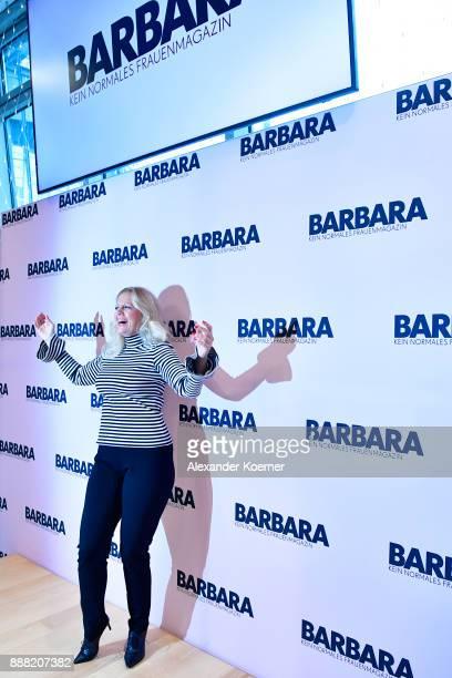 Chief editor of BARBARA magazine Barbara Schoeneberger and her editorial team host a QA for female readers at Gruner Jahr Pressehaus on December 8...