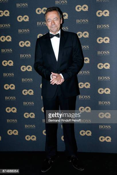 Chief Editor of Vanity Fair France Michel Denisot attends the GQ Men of the Year Awards 2017 at Le Trianon on November 15 2017 in Paris France