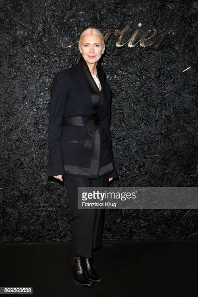 Chief Editor of Vogue Germany Christiane Arp attends the When the Ordinary becomes Precious #CartierParty at Old Power Station on November 2 2017 in...