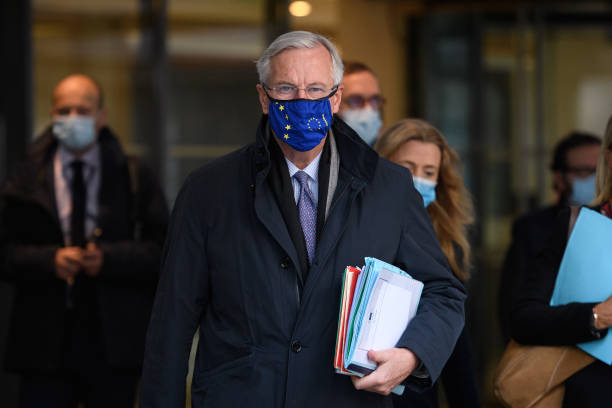 GBR: Brexit Trade Talks Continue In London