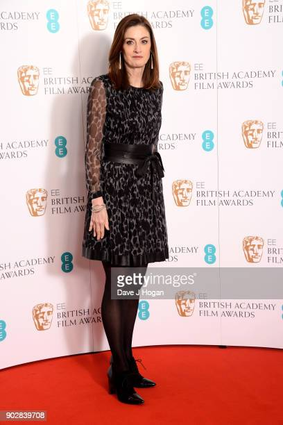 Chief Executive Amanda Berry OBE attends The EE British Academy Film Awards BAFTA nominations announcement at BAFTA on January 9 2018 in London...