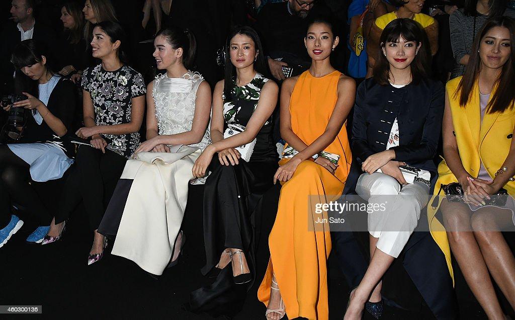 Esprit Dior Tokyo 2015 - Front Row : News Photo