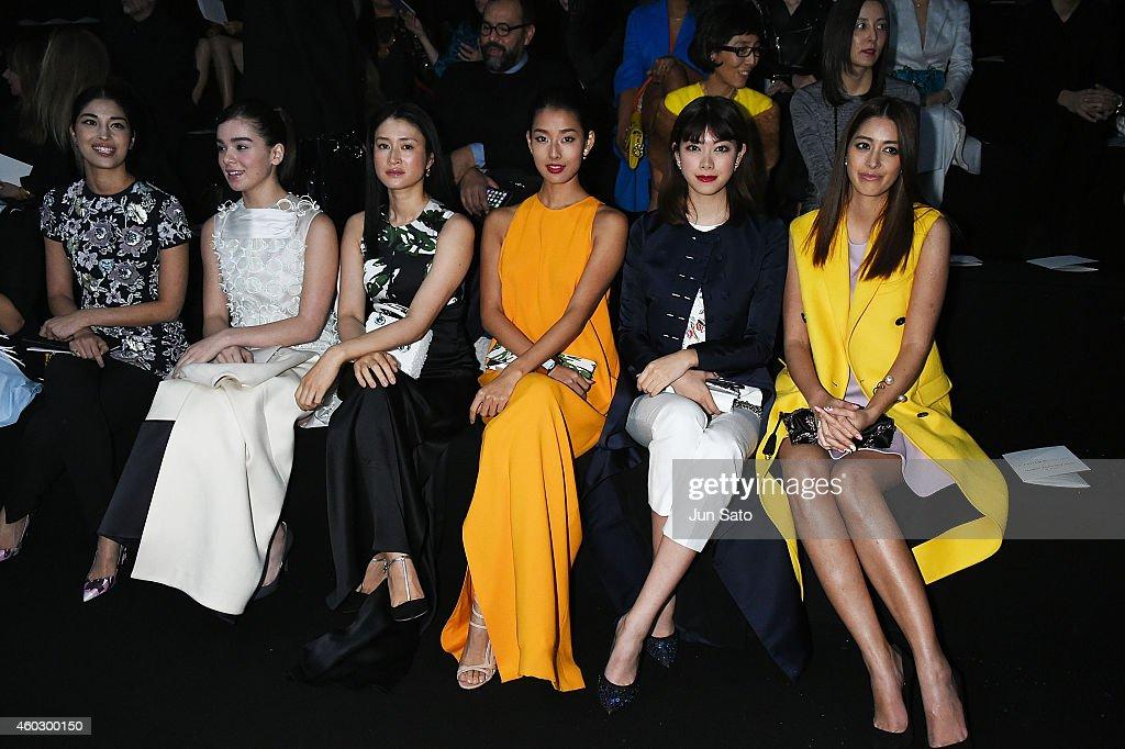 Esprit Dior Tokyo 2015 - Front Row : Foto jornalística