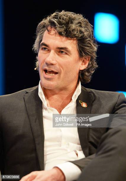 BT Chief Executive Gavin Patterson addresses the CBI annual conference in London