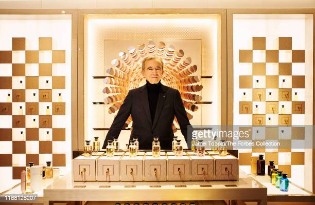 Chief Executive of LVMH, Bernard Arnault is photographed for Forbes Magazine on October 9, 2019 in Paris, France. PUBLISHED IMAGE. CREDIT MUST READ:...