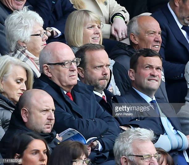 Chief Executive of Manchester United Ed Woodward looks on during the Premier League match between Huddersfield Town and Manchester United at John...