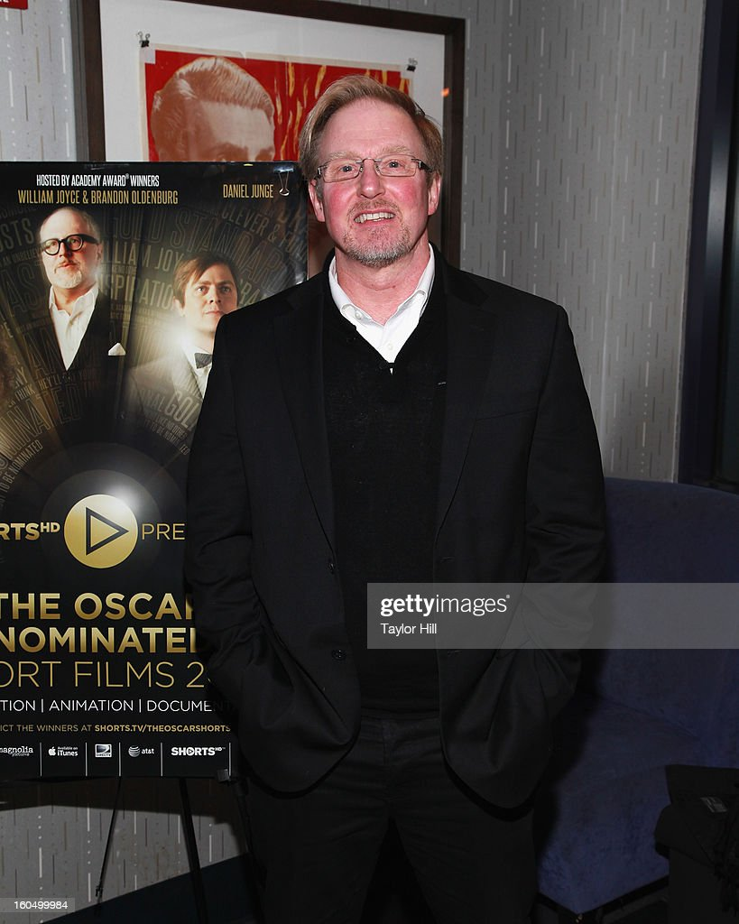 Chief Executive of Shorts International Carter Pilcher attends the NYC Theatrical Opening of Oscar Nominated Short Films at IFC Center on February 1, 2013 in New York City.