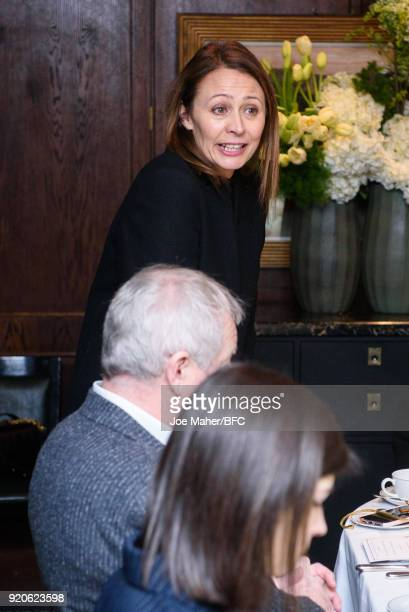 Chief Executive of the Britsh Fashion Councilm Caroline Rush attends the Arab Fashion Council Breakfast during London Fashion Week February 2018 at...