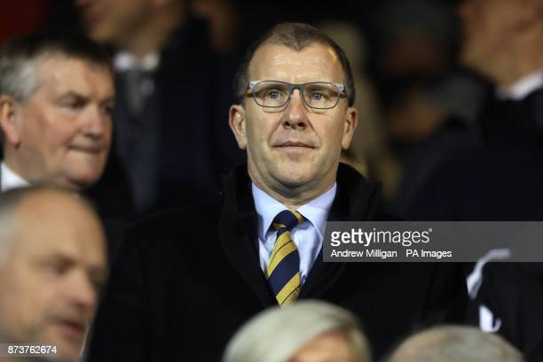 Chief Executive of the Scottish Football Association Stewart Regan
