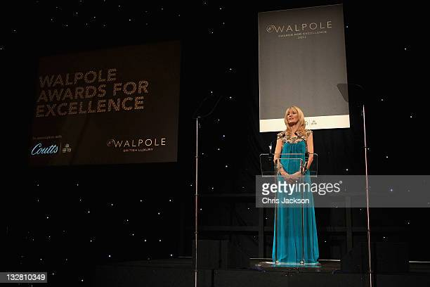 Chief Executive of Walpole Julia Carrick is pictured at the Walpole Awards of Excellence 2011 at Banqueting House on November 14 2011 in London...