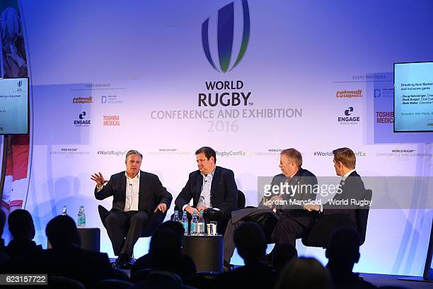 Chief Executive of World Rugby Brett Gosper Chief Executive for PRO Rugby Doug Schoninger Executive VicePresident of International NFL Mark Waller...