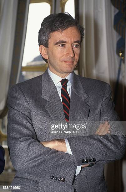 Chief executive officer Bernard Arnault in Paris France on February 4 1992