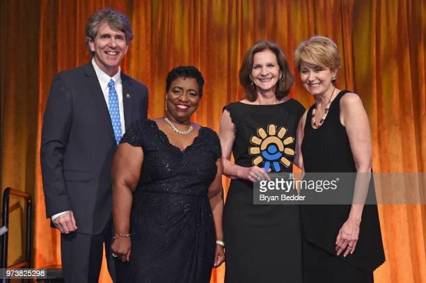 Chief Executive Officer Children's Health Fund Dennis Walto Aurelia JonesTaylor Sherry Pudloski and Jane Pauley pose during the Children's Health...