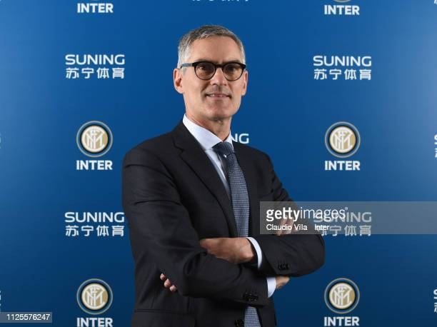 Chief Executive Officer Corporate FC Internazionale Alessandro Antonello poses for a photo during the FC Internazionale shareholders meeting at...