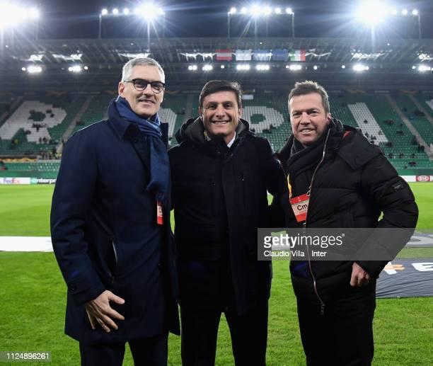 Chief Executive Officer Corporate FC Internazionale Alessandro Antonello Vice President FC Internazionale Javier Zanetti and Lothar Herbert Matthäus...