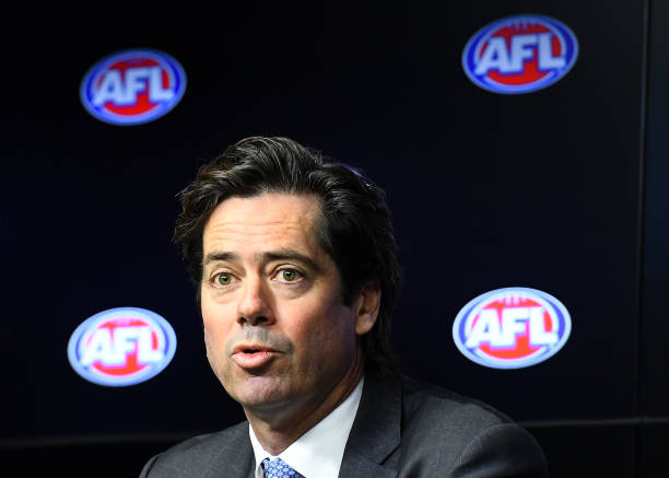 AUS: Gillon McLachlan AFL Press Conference