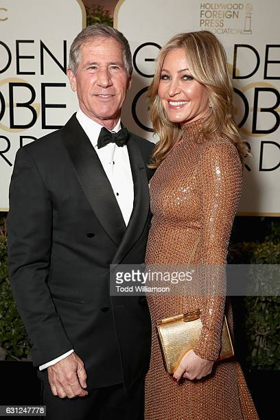 Chief Executive Officer Lionsgate Jon Feltheimer and Laurie Feltheimer attend the 74th Annual Golden Globe Awards at The Beverly Hilton Hotel on...