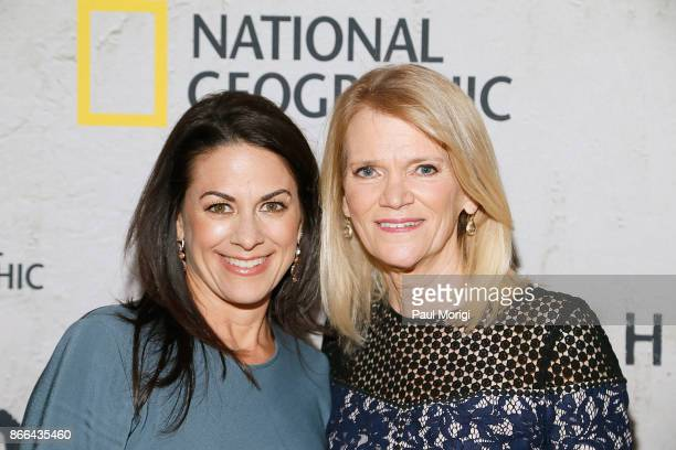 Chief Executive Officer National Geographic Global Networks Courteney Monroe and Author and ABC News Chief Foreign Affairs Correspondent Martha...