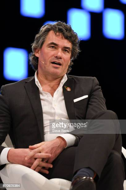 Chief Executive Officer of BT Group Plc Gavin Patterson speaks at the Confederation of British Industry Annual Conference on November 6 2017 in...
