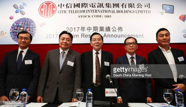 Chief Executive Officer of CITIC Telecom International CPC Limited Stephen Ho Chief Financial Officer Dr David Chan Chairman Xin Yuejiang Chief...