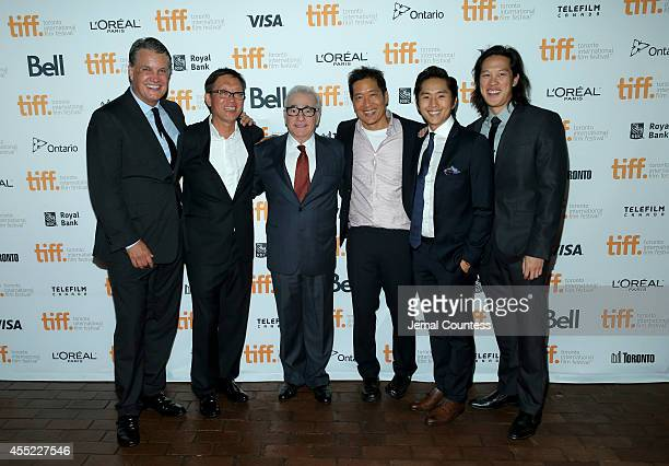 Chief Executive Officer of IM Global and producer Stuart Ford director Andrew Lau executive producer Martin Scorsese director Andrew Loo actors...