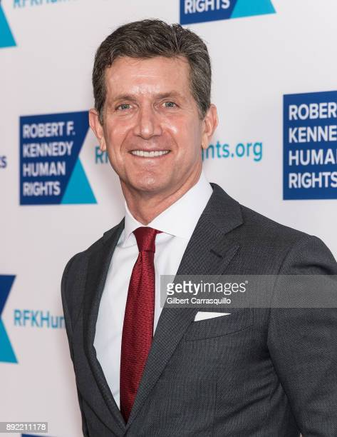 Chief Executive Officer of Johnson Johnson Alex Gorsky attends Robert F Kennedy Human Rights Hosts Annual Ripple Of Hope Awards Dinner at New York...