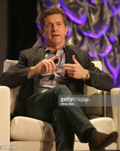 Chief Executive Officer of Johnson Johnson Alex Gorsky speaks onstage at 'Collaborative Innovation in the Digital Health Age' during 2017 SXSW...