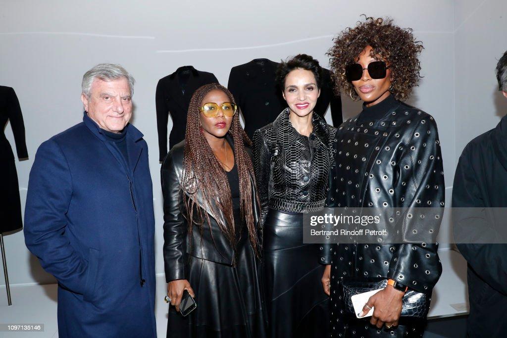 ad4bb5b7ae1 Tribute To Azzedine Alaia - Paris Fashion Week - Menswear F W 2019-2020