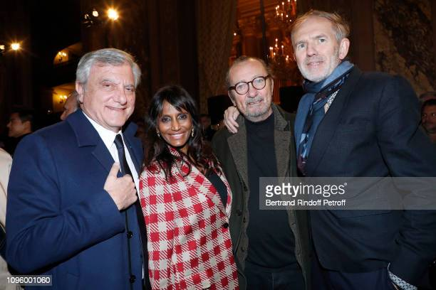 Chief Executive Officer of LVMH Fashion Group Sidney Toledano Mimi Ponnudurai Paolo Roversi and Anton Corbijn attend the Berluti Menswear Fall/Winter...