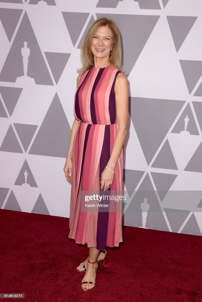 Chief Executive Officer of the Academy of Motion Picture Arts and Sciences Dawn Hudson attends the 90th Annual Academy Awards Nominee Luncheon at The Beverly Hilton Hotel on February 5, 2018 in Beverly Hills, California.