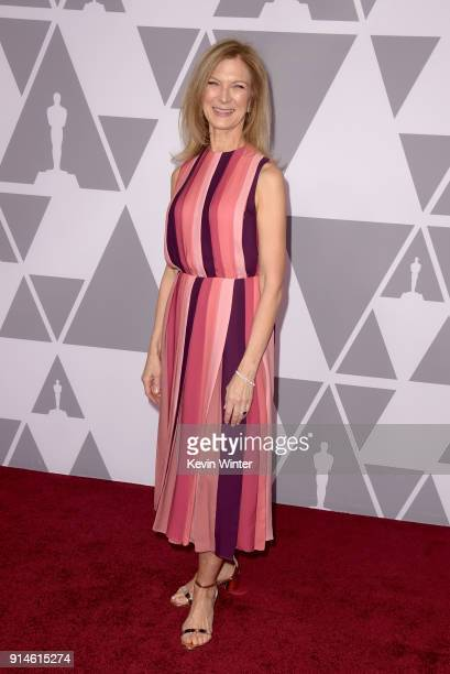 Chief Executive Officer of the Academy of Motion Picture Arts and Sciences Dawn Hudson attends the 90th Annual Academy Awards Nominee Luncheon at The...