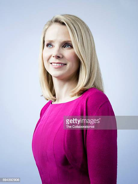 Chief Executive Officer of Yahoo Marissa Mayer is photographed for Fast Company Magazine on March 11 2015 in Los Angeles California COVER IMAGE