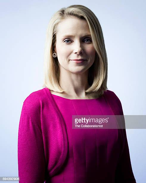 Chief Executive Officer of Yahoo Marissa Mayer is photographed for Fast Company Magazine on March 11 2015 in Los Angeles California PUBLISHED IMAGE