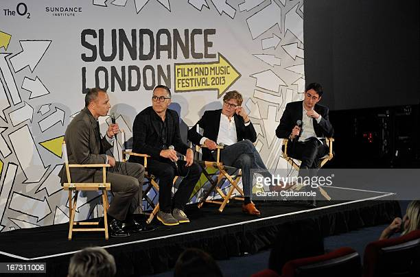 Chief Finance and Strategy Officer of AEG Europe Alex Hill Director of the Sundance Film Festival John Cooper Founder and President of Sundance...