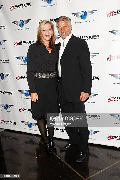 Chief Financial Officer at The Performance Group Julie Landi and Founder/CEO at The Performance Group Joel Landi attend The Luxury Review Beverly...